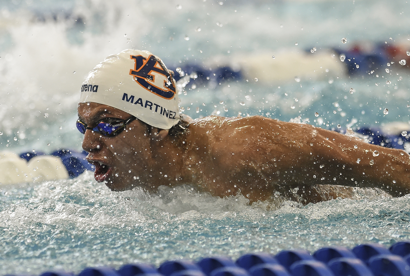 Luis Martinez Auburn during the men's NCAA Swimming and Diving Championships on Friday, March 25, 2016 in Atlanta, Ga. Photo by Wade Rackley/Auburn Athletics