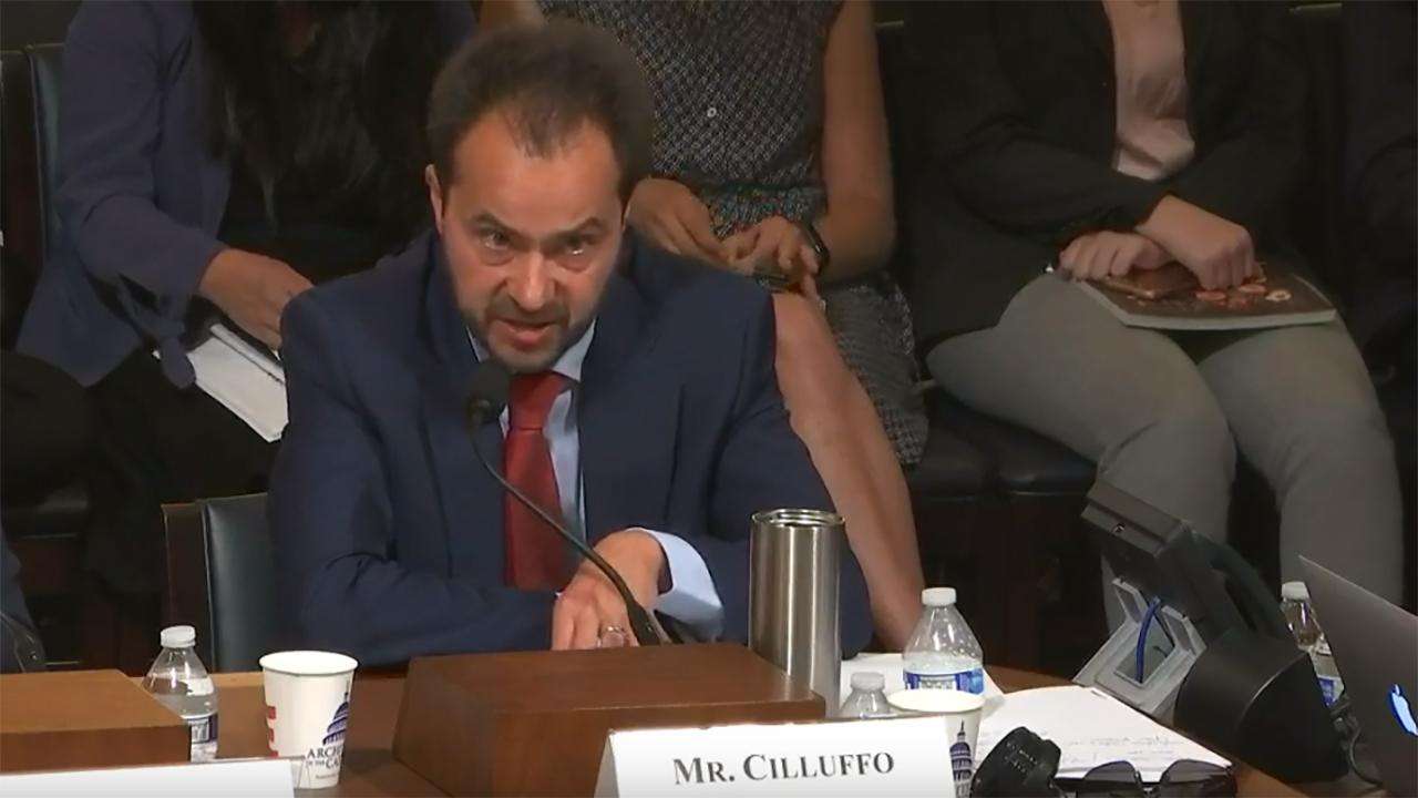 cilluffo-testify