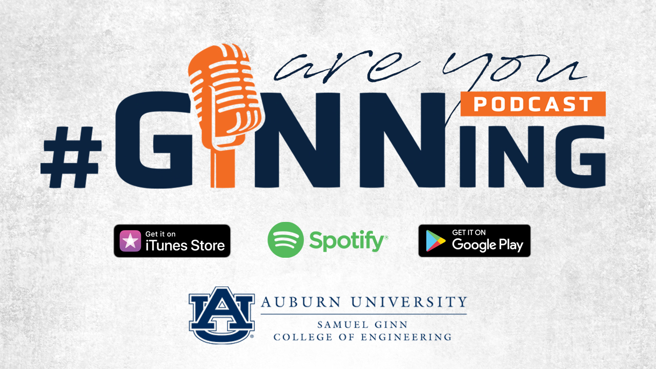 #GINNing podcast logo.
